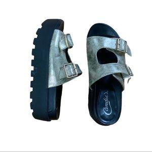 Vintage Candie's 90's era Platform Sandals
